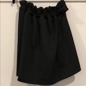 Keepsake the Label black strapless top SZ XS
